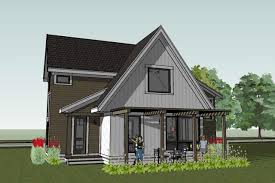 scandinavian cottage house plan scandia modern building plans