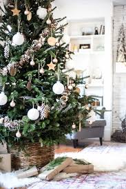 neutral tree decoration tree decorations