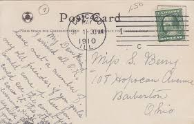 interesting postcard messages come see the comet s