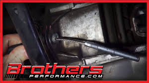 2002 mustang clutch 1986 2004 mustang clutch cable installation detailed how to