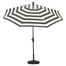 Design For Striped Patio Umbrella Ideas California Umbrella Pagoda Black And White Striped Pacific