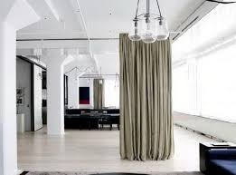 awesome room dividing curtains and room divider curtain hanging