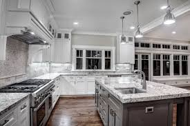 Taupe Cabinets Kitchen Dazzling Granite Kitchen Countertops With White Cabinets