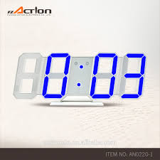 Ivation Clock by Led Wall Clock Outdoor Metal Black Led Wall Clock With