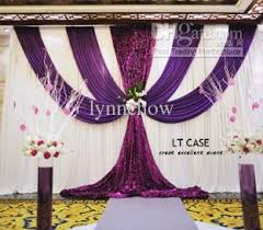 backdrops beautiful purple and white wedding backdrop beautiful wedding