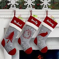 Crochet Christmas Stocking Tree Decoration by Best 25 Embroidered Christmas Stockings Ideas On Pinterest
