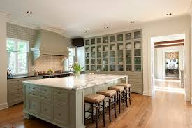 carrera white marble kitchen traditional with china cabinet