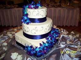 these flowers this is the perfect color mix dark blue royal