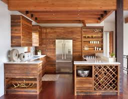 cuisine en bois design emejing cuisine chalet moderne photos design trends 2017