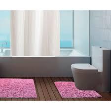 Washable Bath Rugs 100 Cotton Bathroom Mats Set Washable Bath U0026 Pedestal Mat Sets