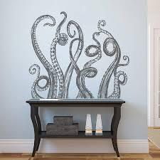 ik2245 wall decal sticker time machine spaceship tardis doctor who ik1225 wall decal sticker octopus tentacles bathroom