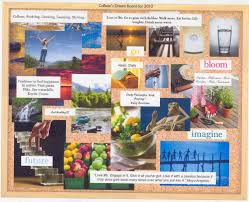 writing teazurs vision boards
