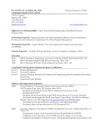Sample Resume Format It Professional by Ma Resume Examples