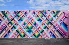 photo 10 of 12 in art and design come together in these 10 maya hayuk s colorful wall mural in miami that was created for art basel 2013 features an