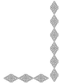 Free Decorative Borders Clip Art Diamond Border Clipart