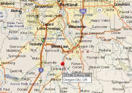 map of oregon i 5 oregon city