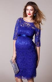 amelia maternity lace dress royal blue maternity wedding