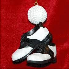 golf shoes golf personalized ornament golf ornaments