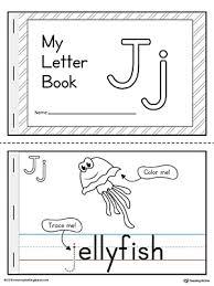letter j mini book printable letter j mini books and printable