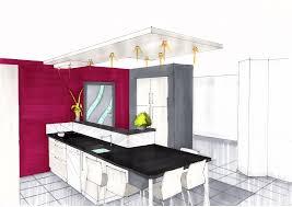 dessiner en perspective une cuisine dessin cuisine perspective aménagement bureau entreprise