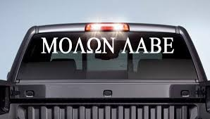 subaru windshield decal category molon labe decals stickers
