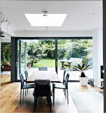 open glass extension patio interior design ideas
