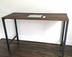 Pipe Desk Extra Thick Pipe Reclaimed Wood Desk Industrial Desk by Reclaimed Wood Desk Etsy