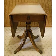 Drop Leaf Pedestal Table Awesome Pedestal Drop Leaf Table Pdf Plan Vintage Drop Leaf