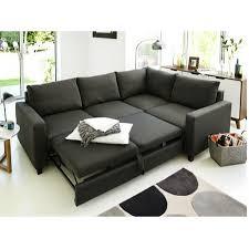 Corner Sofa Bed Hygena Seattle Right Corner Sofa Bed Charcoal At Furnico