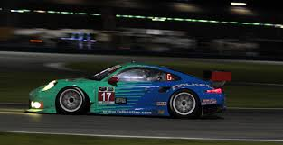 porsche falken rolex 24 caution no 9 as porsches collide tudor united