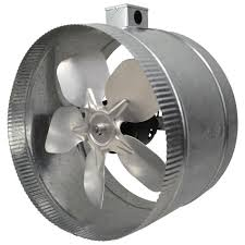 suncourt 6 inline duct fan inductor 12 in 4 pole in line duct fan with electrical box db412e