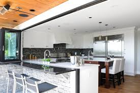 create your dream kitchen with nanawall kitchen transition nanawall