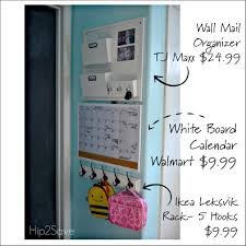 Wall Calendar Organizer Back To Organization Tips U2013 Hip2save