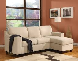 Small Sectional Sofas by Awesome Small Sectional Sofa With Chaise Lounge 64 In Microfiber