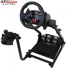 xbox 360 steering wheel gt omega steering racing driving wheel stand for sony ps3 xbox