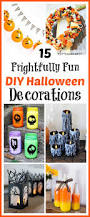 home made holloween decorations 15 frightfully fun diy halloween decorations a cultivated nest