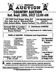 country auction sept 16 carlton mn
