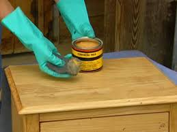 wax for wood table how to give furniture an antique look how tos diy