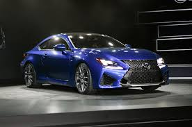 lexus rc f manual transmission top performance cars of the 2014 detroit auto show motor trend wot