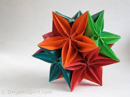 cara membuat origami kusudama origami instructions video on how to make a kusudama with a carambola