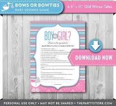 baby shower gender reveal reveal trivia baby shower