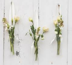 how to style hanging floral vases rustic wedding chic