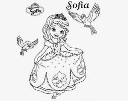 8 images of sofia first coloring pages snow disney sofia the