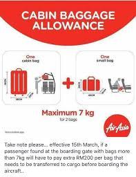 airasia liquid airasia reminder gate baggage fees rm200