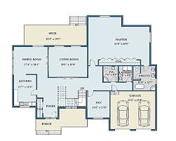 Color Floor Plan Portfolio
