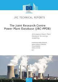 joint research centre power plant database jrc ppdb