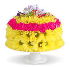 home fresh flower birthday cake columbus oh florist