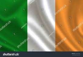 ireland flag series flags world stock illustration 706797304