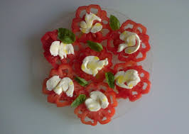 cuisiner le coeur de boeuf ma cuisine et moi dentelle de tomates mozzarella basilic