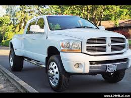 Dodge Ram 99 - 2006 dodge ram 3500 laramie 5 9l mega cab dually super single